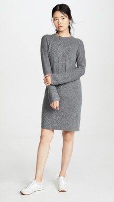 Vince Wool Raglan Crew Dress