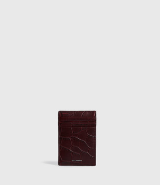 AllSaints Polly Leather Card Case
