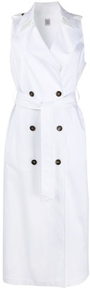 Eleventy Double Breasted Trench Dress