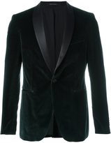 Tagliatore velvet effect dinner jacket