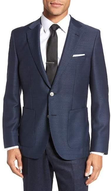 BOSS Janson Classic Fit Wool Blazer