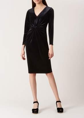 Hobbs Emilia Velvet Dress