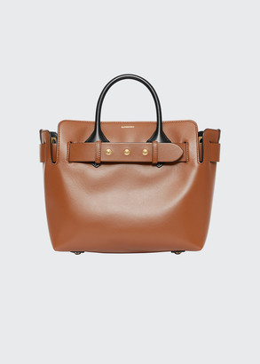 Burberry Small Belt Two-Tone Tote Bag