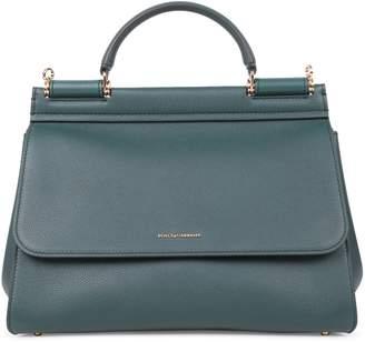 Dolce & Gabbana Green Sicily Soft Bag
