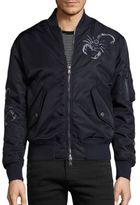 Diesel Black Gold Scorpion Embroidered Jacket