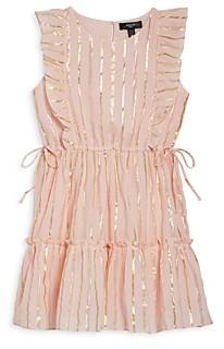 Aqua Girls' Metallic Sleeveless Dress, Big Kid - 100% Exclusive