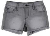 Tractr Girl's Frayed Hem Denim Shorts