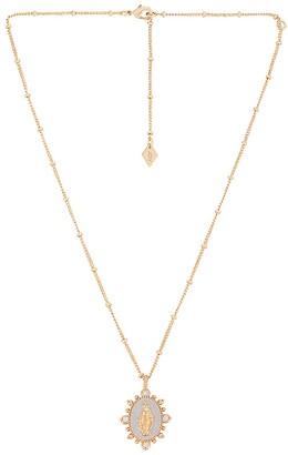 Joy Dravecky Jewelry Lady Lourdes Pendant Necklace