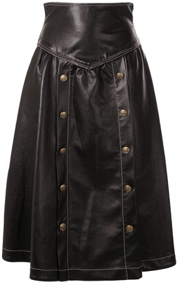 Philosophy di Lorenzo Serafini Panelled Flared Skirt