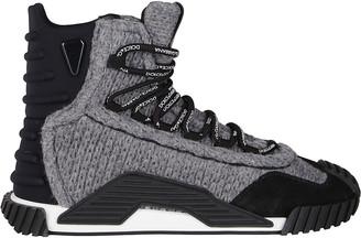 Dolce & Gabbana Ns1 High-Top Sneakers