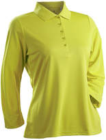 Asstd National Brand Nancy Lopez Golf Luster 3/4 Sleeve Polo