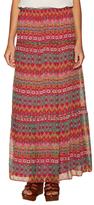 Diane von Furstenberg Baylee Silk Print Maxi Skirt