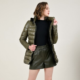 Molly Bracken Mid-Length Hooded Padded Jacket