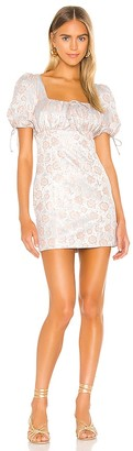 Majorelle Mason Mini Dress