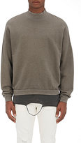 NSF Men's Cotton Terry Oversized Sweatshirt-GREEN, DARK GREEN