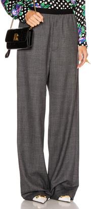 Balenciaga Elastic Pant in Black & Grey | FWRD