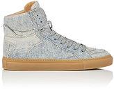 MM6 MAISON MARGIELA Women's Denim High-Top Sneakers-BLUE