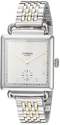 Shinola Detroit The Cass 28mm - 20065279 (Stainless Steel/Gold) Watches
