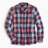 J.Crew Classic popover shirt in smoky coral plaid