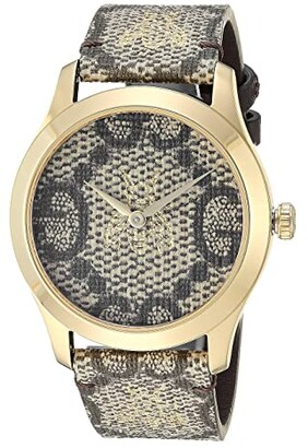 Gucci G-Timeless - YA1264068 (Brown) Chronograph Watches