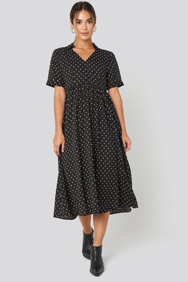 MANGO Phoebe H Dress Black