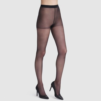 Dim Acti'Voile Thermo 20 Denier Sheer Tights, Made in France