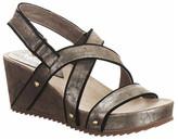 Antelope Metallic Stud Wedge Sandal