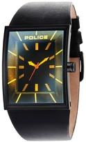 Police Vantage Black Strap Watch