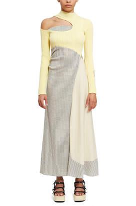 Lorod Cut Out Combo Dress