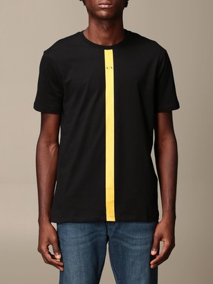 Armani Exchange T-shirt With Vertical Logo