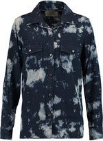 Current/Elliott The Perfect tie-dye chambray shirt