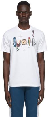 Paul Smith White Fish Hook T-Shirt