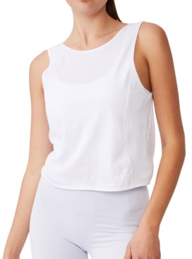 Cotton On Women's On The Go Twist Back Tank