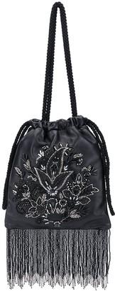 Etro Floral Embroidered Fringe Handbag