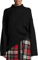 Public School Serat Long-Sleeve Mock-Neck Sweater