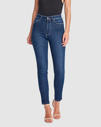 RES Denim Women's Blue Jeans - Harrys Hi Skinny Ankle Jean - Size One Size, 26 at The Iconic