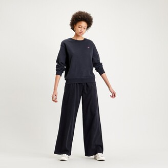 Levi's Pleated Wide Leg Jeans with High Waist