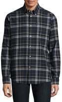 Barbour Blane Tailored-Fit Check Button-Down Shirt