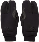 Y-3 Black Tech Gloves