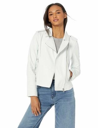 BB Dakota Womens Hello Moto Washed Leather Jacket