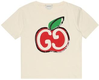 Gucci Kids Sequined cotton T-shirt