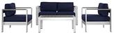 Shore Patio Sectional Sofa Set (4 PC)