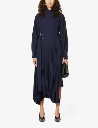 Camilla And Marc Piper asymmetric crepe midi dress