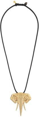 Natia X Lako elephant necklace