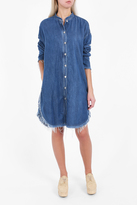 Acne Studios Gracie Denim Shirt Dress