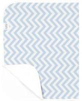 Kushies Deluxe Change Pad Flannel Chevron Blue