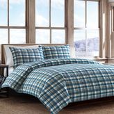 Eddie Bauer Spencer Plaid Flannel Duvet Cover Set
