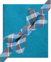 Alfani Men's Lennox Plaid Bow Tie & Suspender Set, Only at Macy's