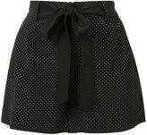 Joie polka dot shorts - women - Silk - S