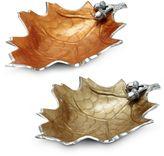 Julia Knight Luxe Lodge Oak Leaf 15-Inch Bowl